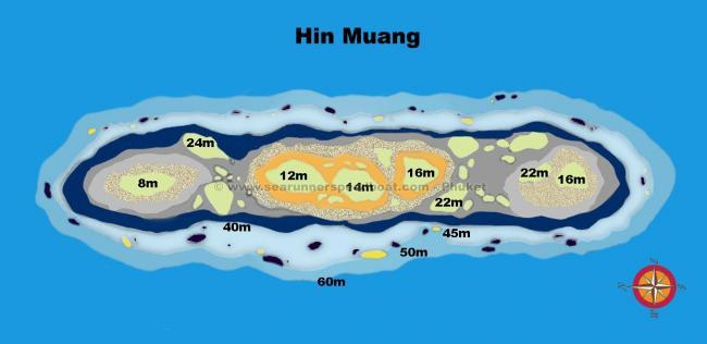 Hin Muang Diving Searunnerspeedboat