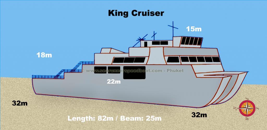 King Cruiser Wreck Diving Searunnerspeedboat