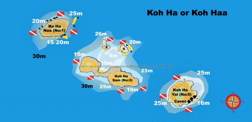 Koh Haa Diving Searunnerspeedboat
